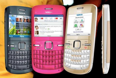 Nokia C3 thiết kế tốt và kết nối Wi-Fi.