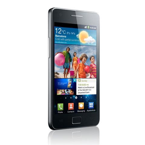 Galaxy S II có thiết kế siêu mỏng.