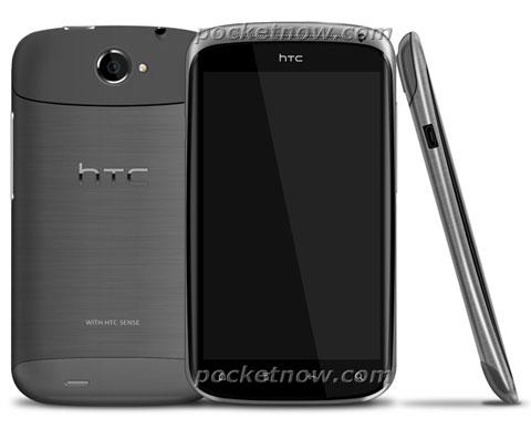 Hình ảnh của chiếc HTC Ville siêu mỏng. Ảnh: Pocketnow.