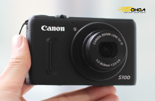 Canon PowerShot S100. Ảnh: Tuấn Hưng.