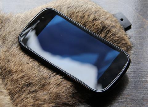 Nexus S với màn hình Super AMOLED.