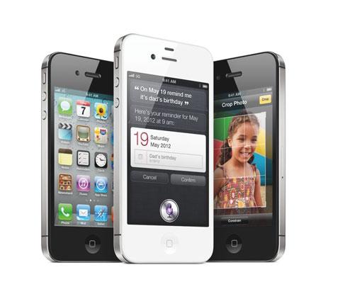 iPhone 4S của Apple với Siri và nhiều tính năng mới.
