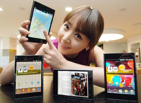Optimus Vu, điện thoại màn hình tỷ lên 4:3 của LG.
