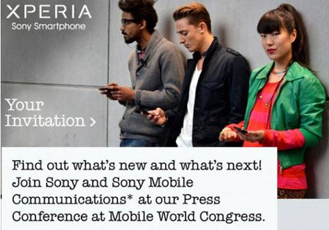 Sony thông báo sẽ ra mắt điện thoại ở MWC.