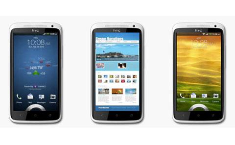 Hình ảnh chính thức của HTC One X.