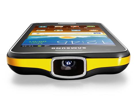 Di động máy chiếu mới của Samsung mang tên Galaxy Beam.