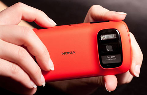 Chiếc PureView với camera 41 Megapixel.