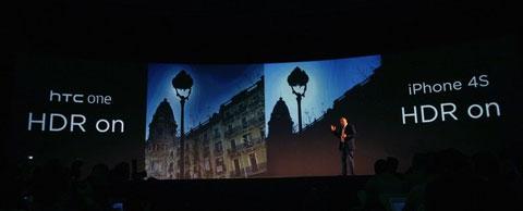 Công nghệ hình ảnh là một trong hai trọng điểm trong sản phẩm của HTC.