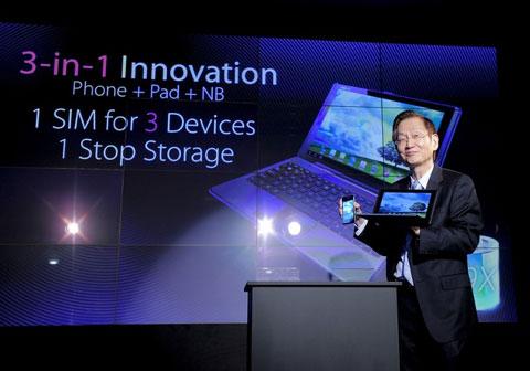 Android là nền tảng phổ biến tại MWC 2012. Ảnh: Daylife.