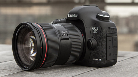 Canon 5D Mark III.