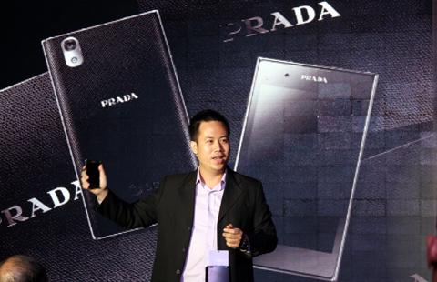 Prada 3.0 tại buổi ra mắt tối qua.