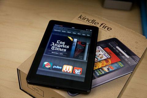 Giá Kindle Fire tại Việt Nam khoảng 5,2 triệu đồng. Ảnh: Cnet.