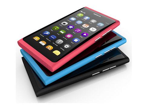 N9 của Nokia có thiết kế đẹp.