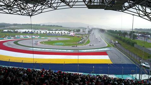 Đường đua F1.