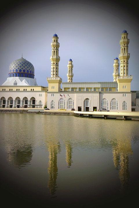 Nhà thờ đạo Hồi.