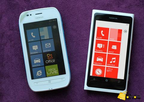 Lumia 710 và 800 là hai thiết bị sẽ bán tại Việt Nam sớm hơn 610 và 900.