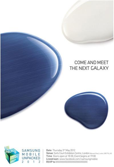Samsung gửi thư mời về