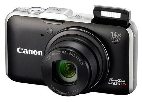 SX230 HS là máy ảnh du lịch cao cấp.