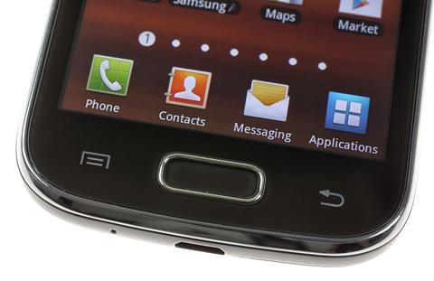 Ba nút bấm đặc trưng của di động Android từ Samsung.