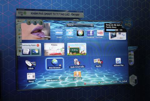 ES8000 cho phép người dùng điều khiển giọng nói.