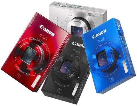 Canon Ixus 500 HS.