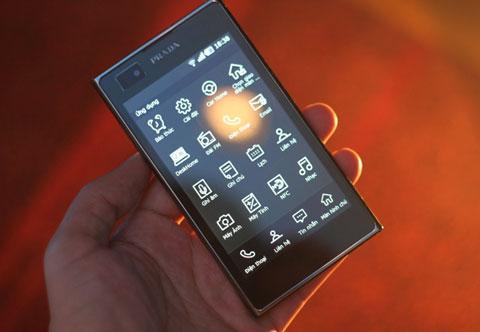 LG Prada 3.0 với thiết kế đậm dấu ấn thời trang.