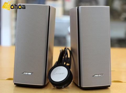 Companion 20 là bộ loa 2.0 gọn, đơn giản nằm trong dòng loa máy tính của Bose.
