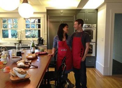 Mark Zuckerberg luôn tự hào về người vợ mới cưới.