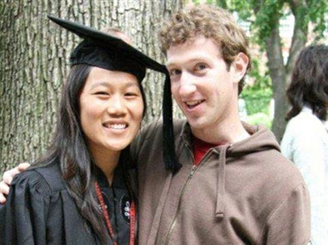 Ảnh chụp năm 2007 khi Chan tốt nghiệp Harvard. Ảnh: Facebook.