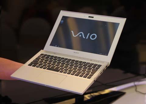 Sony bắt đầu bán dòng ultrabook tại Việt Nam.