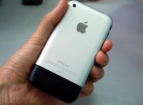 iPhone 2G là model duy nhất có bộ vỏ nhôm.