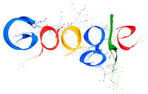 Logo Google trong ngày kỷ niệm một năm Google+.
