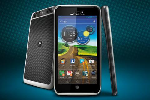 Motorola Atrix HD mỏng, có giá