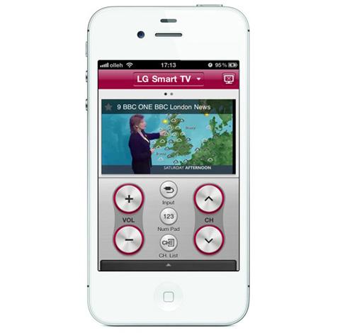 LG Magic có thể thay thế cho điều khiển thông thường nhưng hỗ trợ cả phát nội dung đang hiển thị trên TV.