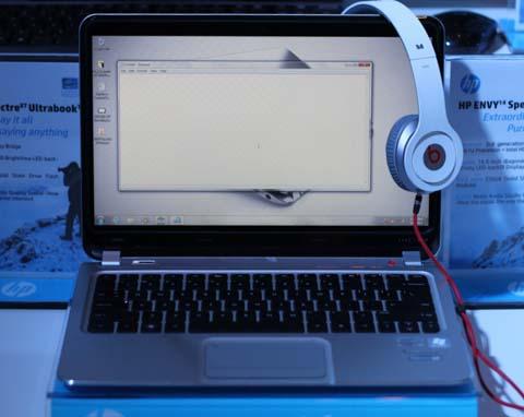 Dòng Envy Spectre XT với thiết kế thuần ultrabook.