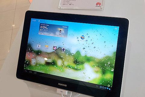 MediaPad 10 FHD sẽ được bán vào cuối tháng 8 năm nay. Ảnh: Micgadget.