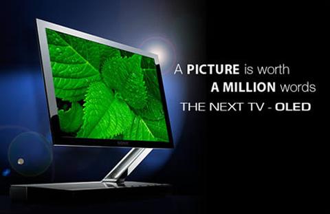 Chiếc TV OLED đầu tiên tới từ Sony có kích thước 11 inch nhưng hiện tại sắp có TV OLED lên tới 55 inch.