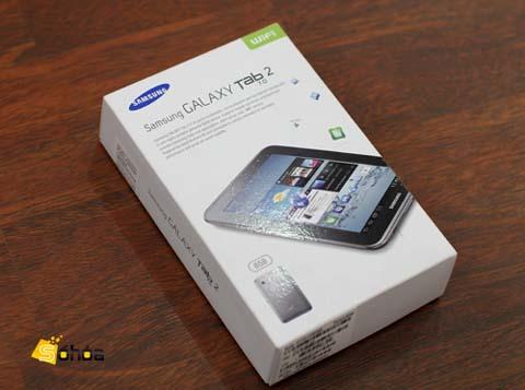 Galaxy Tab 2 7.0 là đối thủ của các máy tính bảng 7 inch. Ảnh: Tuấn Hưng.