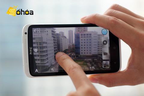 HTC One X gây ấn tượng về khả năng chụp hình. Ảnh: Tuấn Anh.