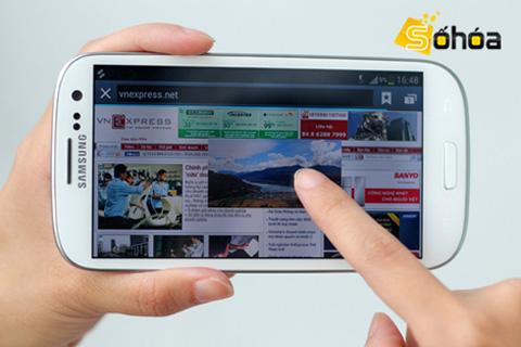 Galaxy S III là smartphone Android thuộc hàng hấp dẫn nhất hiện nay.