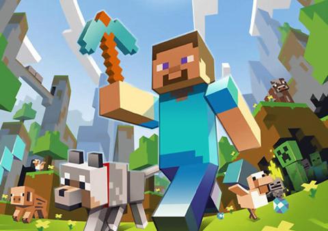 Game Minecraft cho Xbox 360 đã bán được 3 triệu bản. Ảnh: Destructoid.