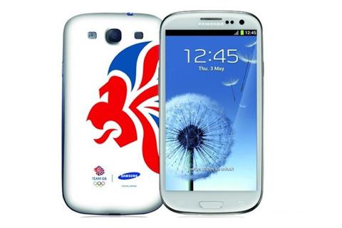 Galaxy s iii phiên bản đặc biệt cho olympic - 1