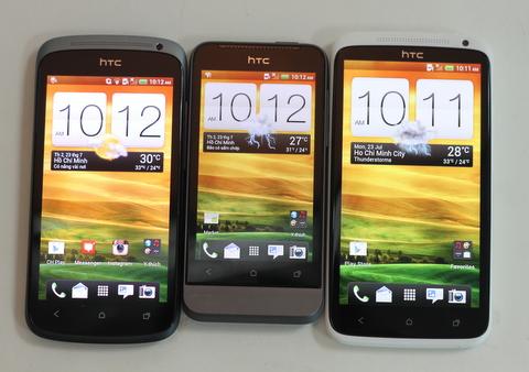 Bộ ba HTC One có giá từ 7,5 đến trên 16 triệu đồng.