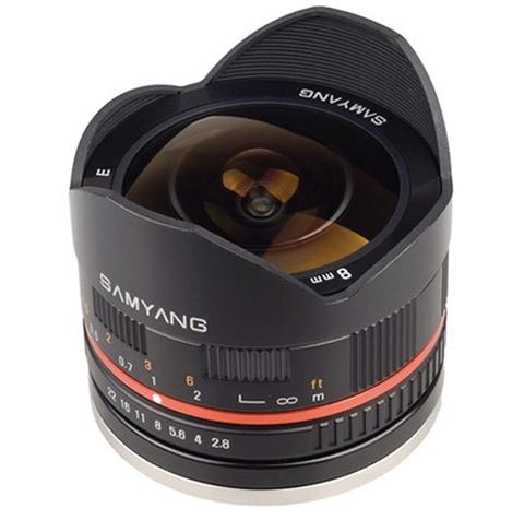 Samyang 8mm f/2.8.