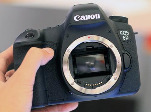 Chia sẻ tổng quát về máy ảnh Canon EOS 6D 2