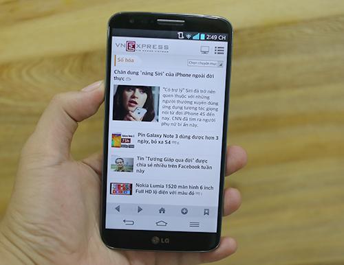 Trên tay G2 - điện thoại di động cao cấp nhất của LG