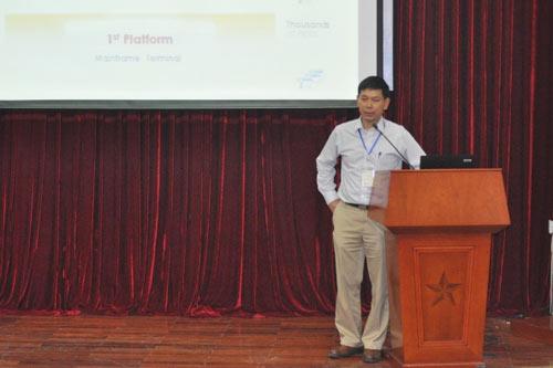 Ông Nguyễn Lâm Phương, Giám đốc Công nghệ Tập đoàn FPT.