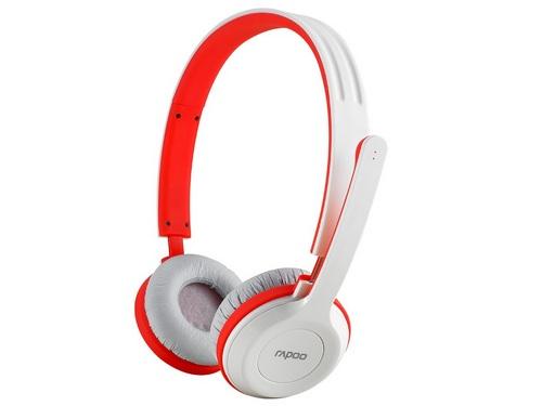Rapoo H8030 phiên bản màu đỏ - trắng.