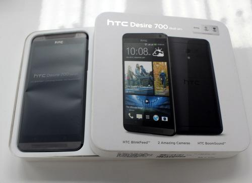 Desire 700 là mẫu smartphone 2 SIM tầm trung bắt đầu được HTC bán chính hãng ở Việt Nam với giá 9,5 triệu đồng.
