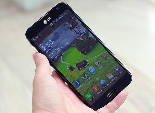 Phablet 5,5 inch của LG cũng có giá chính hãng dưới 10 triệu đồng.